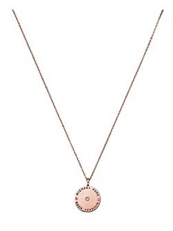 Heritage Rose Gold Pendant Necklace