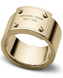 Heritage Plaque Ring - Ring Size P - M/L