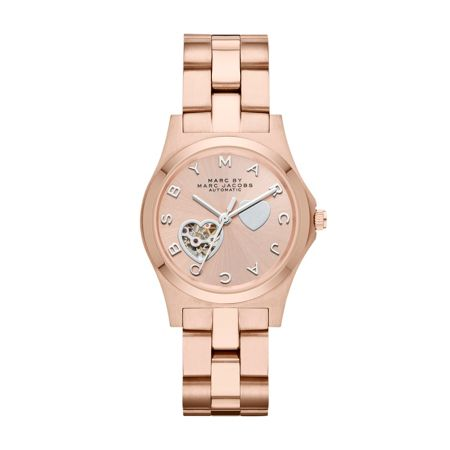 Marc Jacobs MBM9713 HENRY rose gold ladies watch