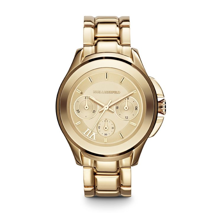 KL2404 Klassic gold unisex bracelet watch