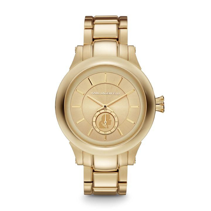 KL1217 Klassic gold unisex bracelet watch