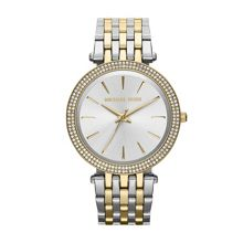 Michael Kors MK3215 Darci Silver and Gold Ladies Watch