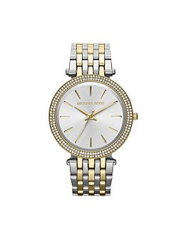 Michael Kors MK3215 Darci Silver and Gold Ladies