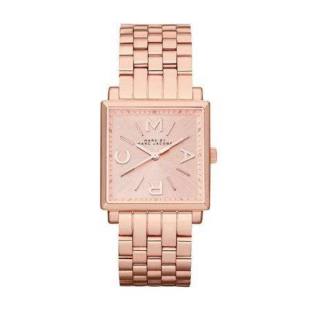 Marc Jacobs MBM3260 Truman Rose Gold Square Ladies Watch