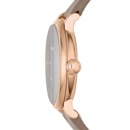 Marc Jacobs MBM1266 Baker Ladies Grey Leather Strap Watch