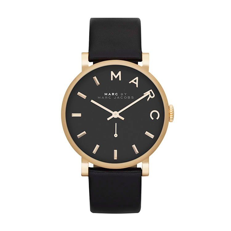 MBM1269 Baker Black Leather Ladies Watch