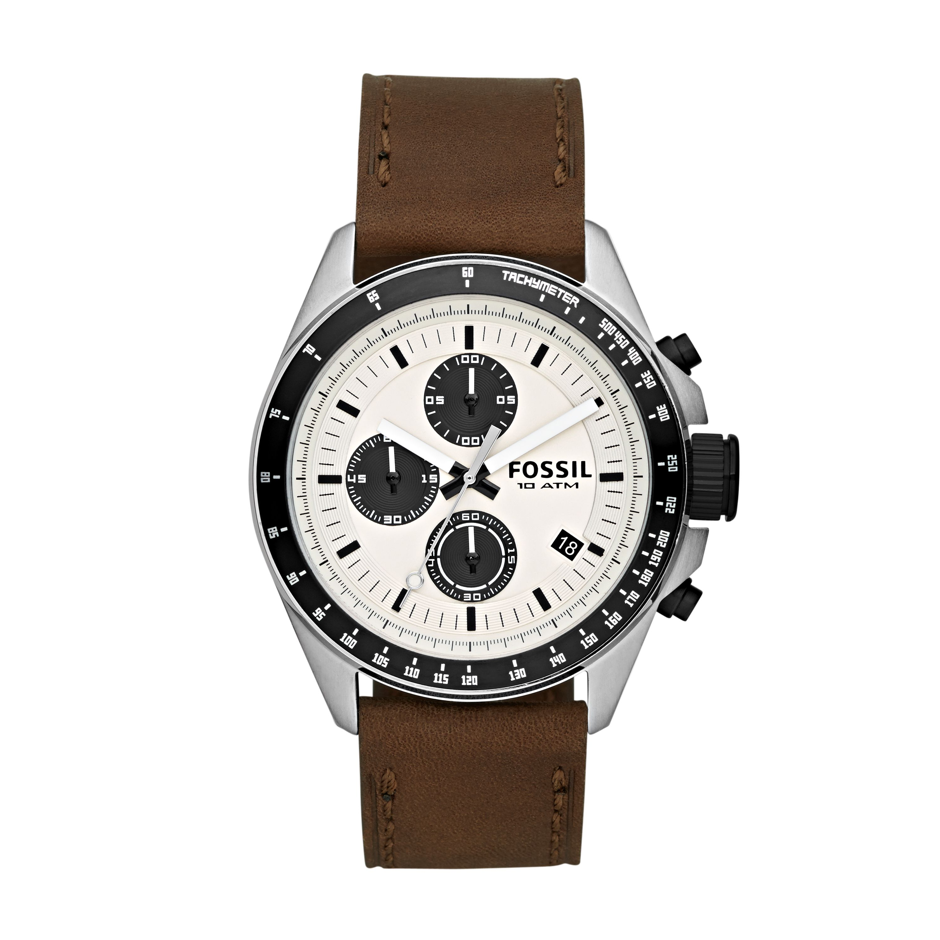 CH2882 Decker Brown Leather Mens Watch