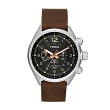 CH2892 Flight Brown Leather Mens Watch