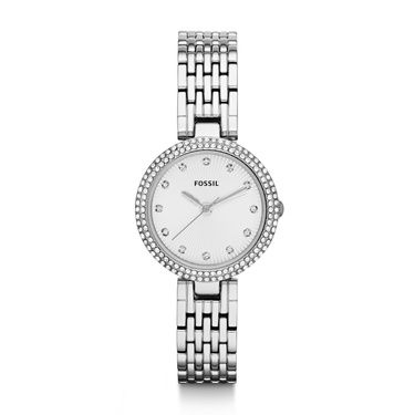 ES3345 Olive Ladies Silver Glitz Bracelet Watch