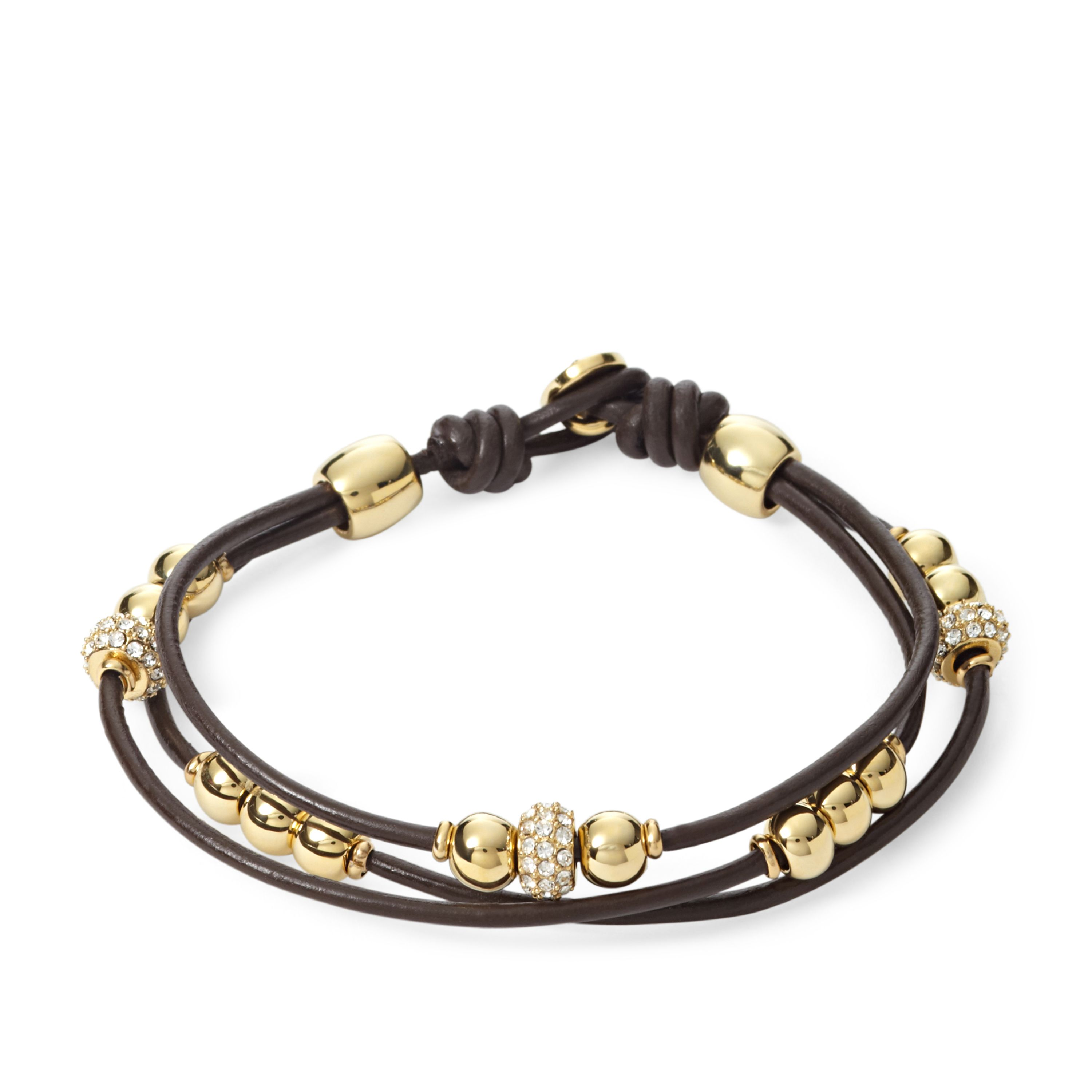 JA6069710 Ladies brown fashion bracelet