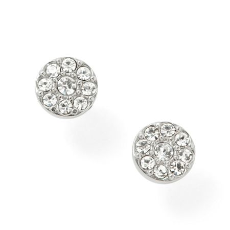 Fossil Jf00828040 Ladies silver vintage glitz earrings