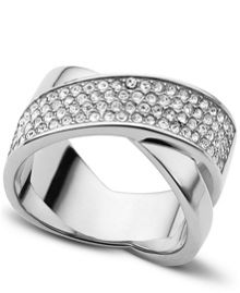 Brilliance Pave Ring - Ring Size O - S/M