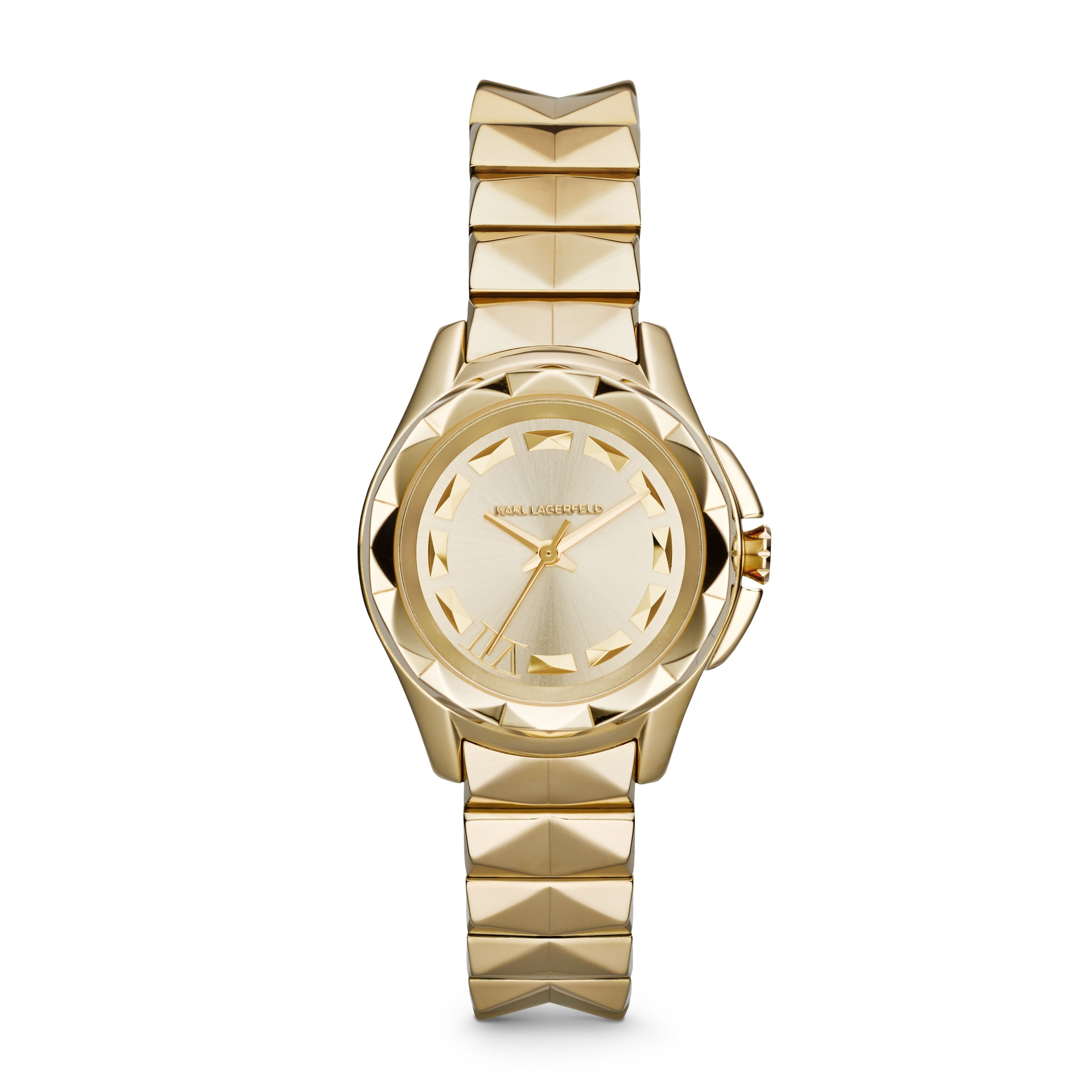 KL1026 Karl 7 Gold Ladies Bracelet Watch