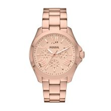 Fossil AM4511 Cecile Rose Gold Ladies Bracelet Watch