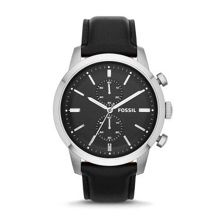 Fossil FS4866 Townsman Gents Leather Chronograph Watch