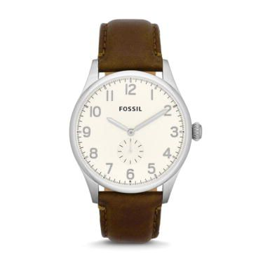 FS4851 The Agent Gents Brown Leather Watch