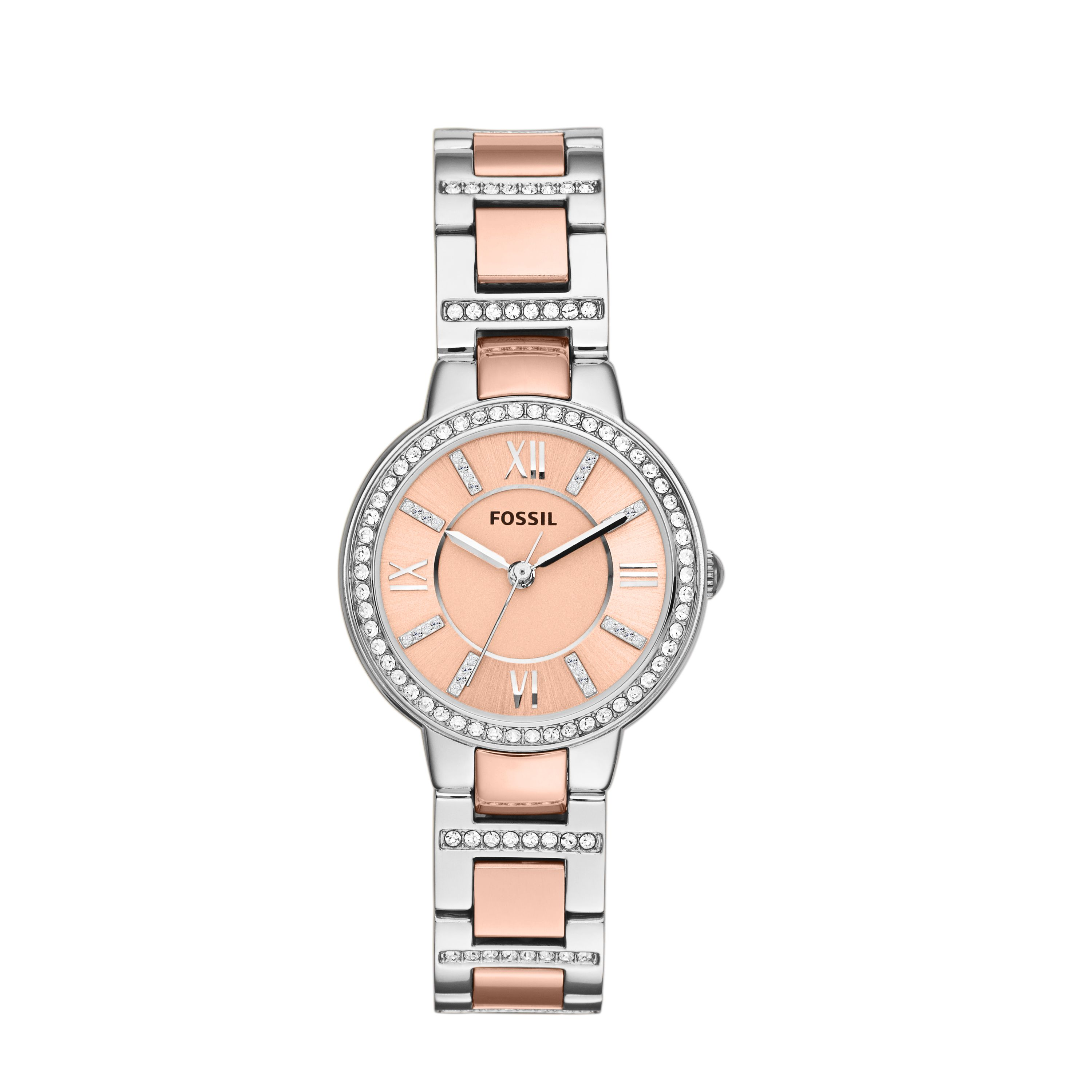 Es3405 virginia ladies rose gold bracelet watch