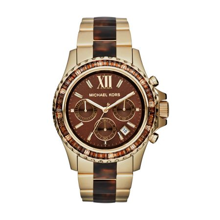 Michael Kors MK5873 Everest Gold Tortoise Ladies Watch