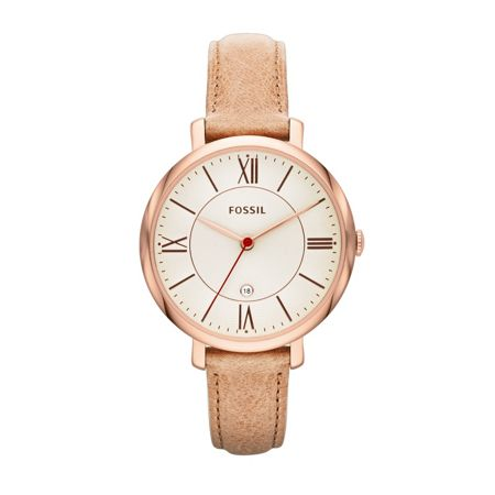 Fossil ES3487 Jacqueline Sand Leather Ladies Watch