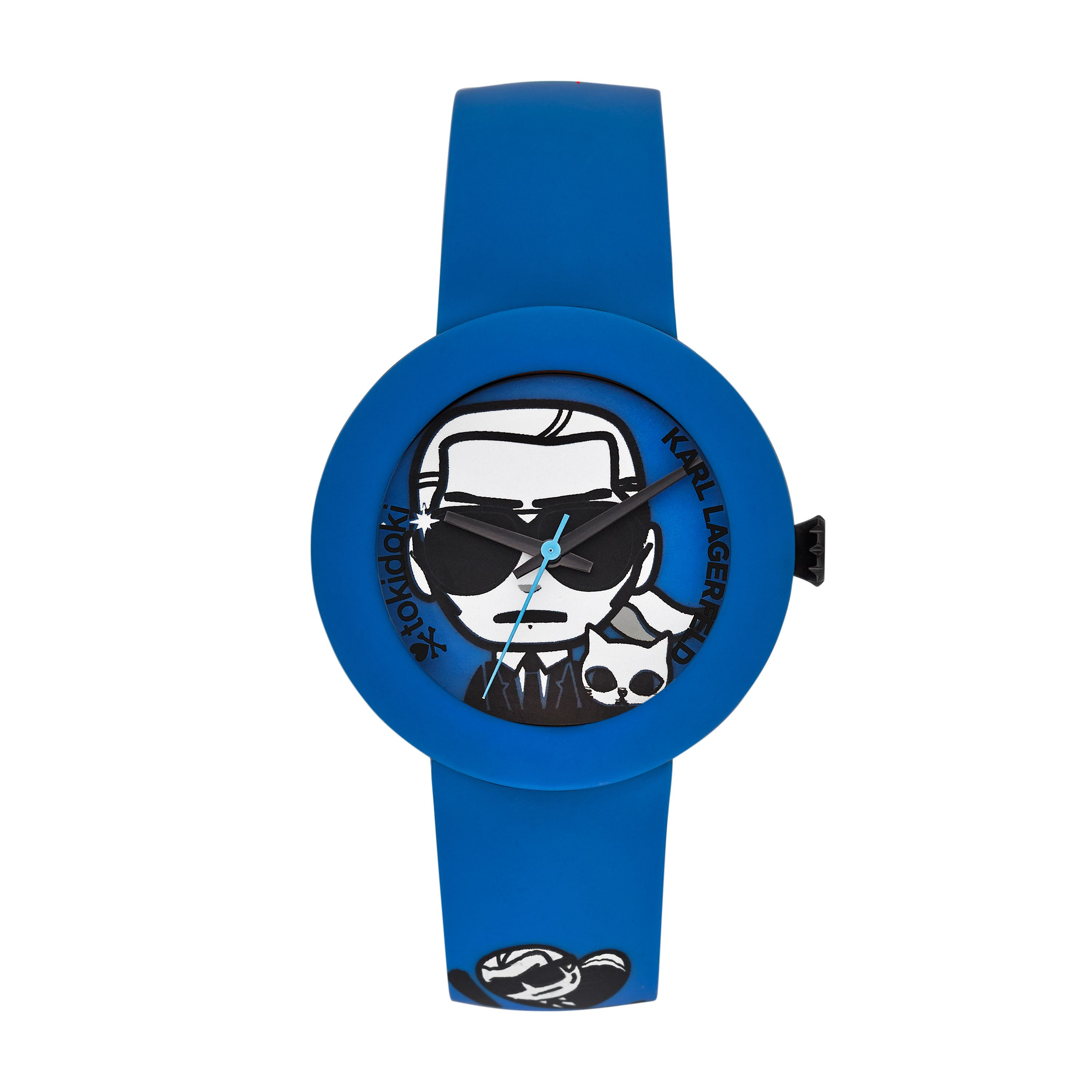 KL2212 EDGE Blue Silicone unisex watch