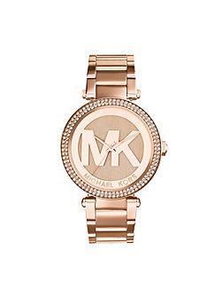 Michael Kors MK5865 Parker Rose Gold Ladies Bracelet