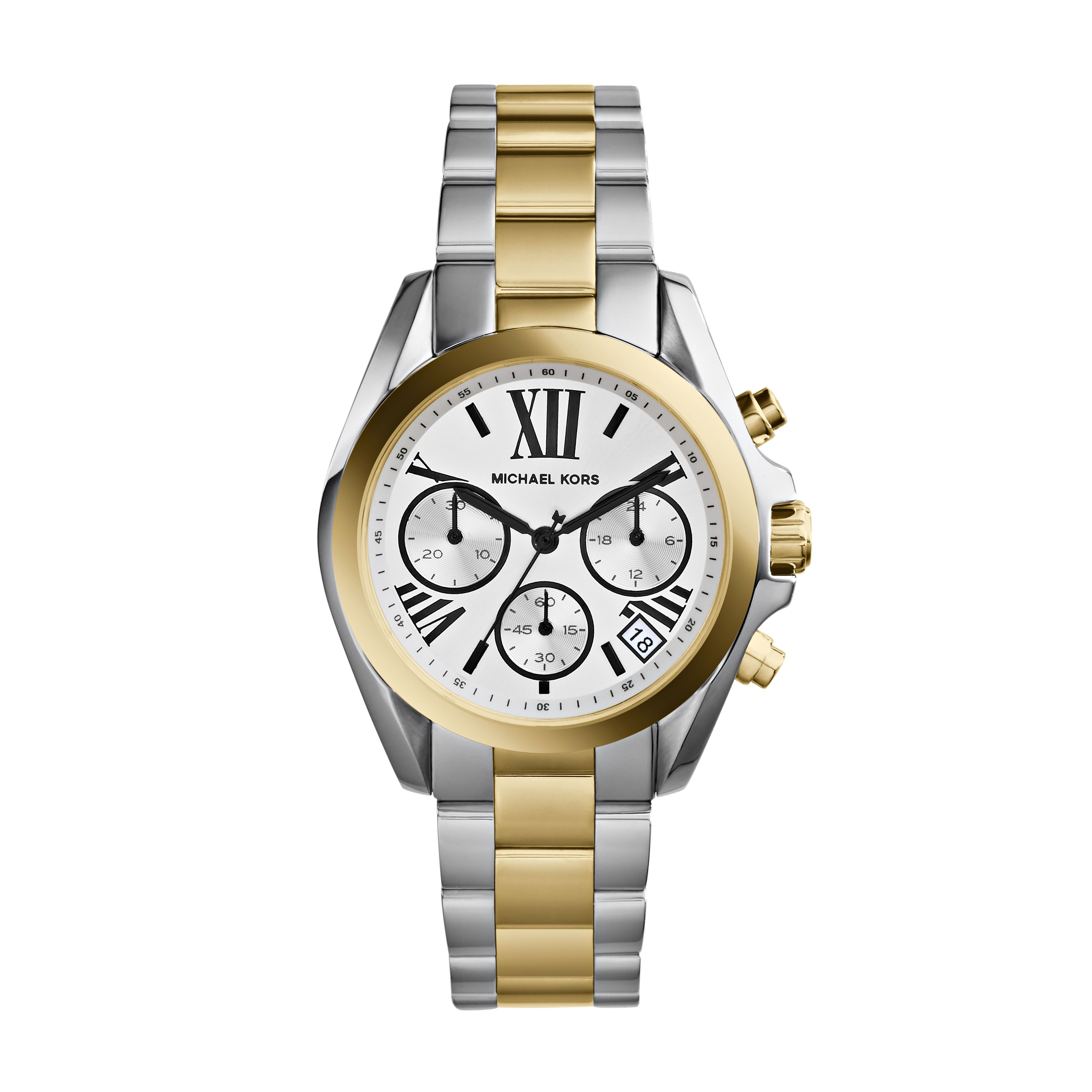 MK5912 Bradshaw Silver and Gold Ladies Watch