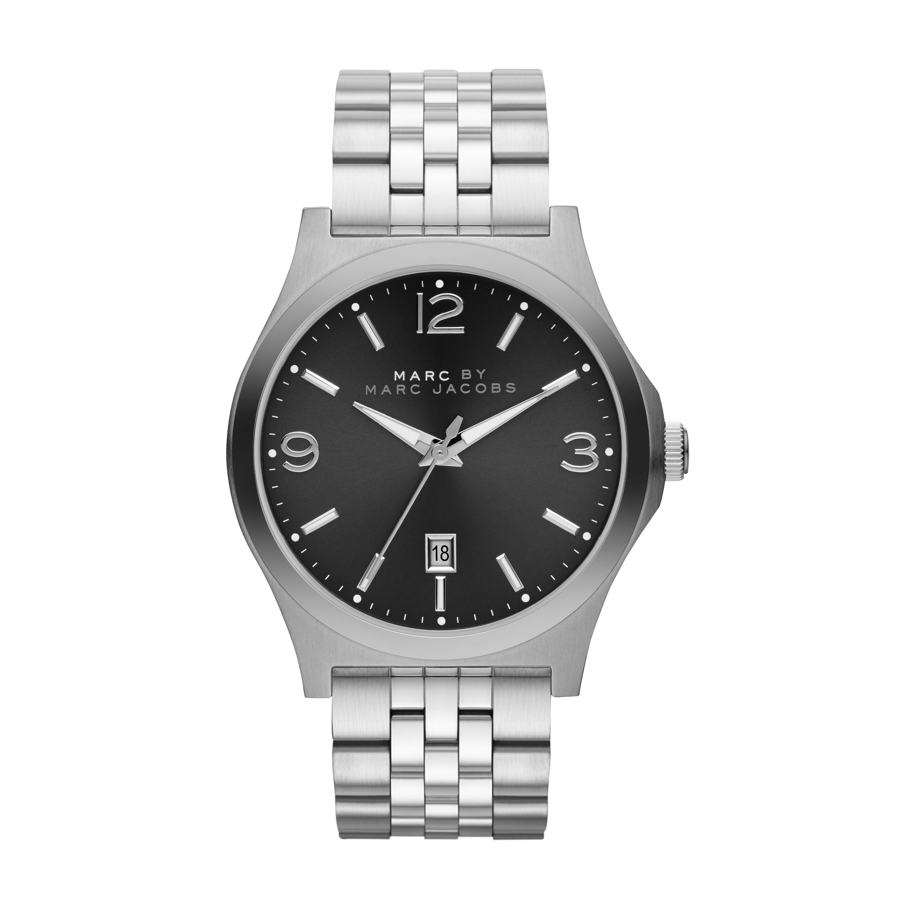 Danny silver mens bracelet watch