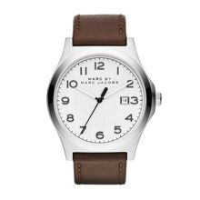 Jimmy brown leather mens watch