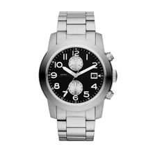 Larry silver mens military watch