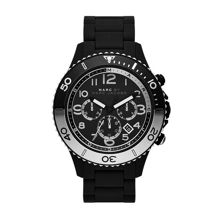 Rock black mens sports watch