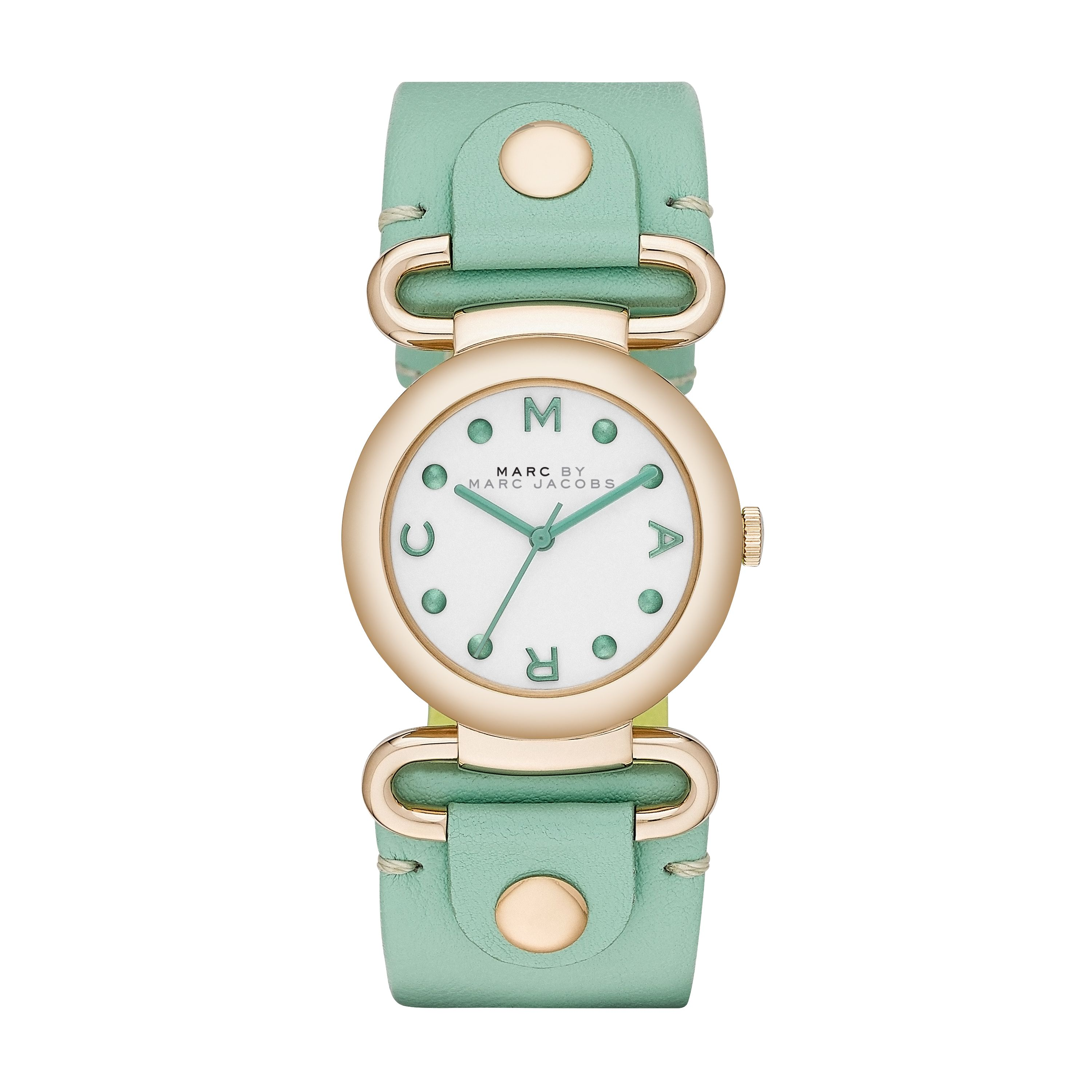 MBM1306 MOLLY green leather ladies watch