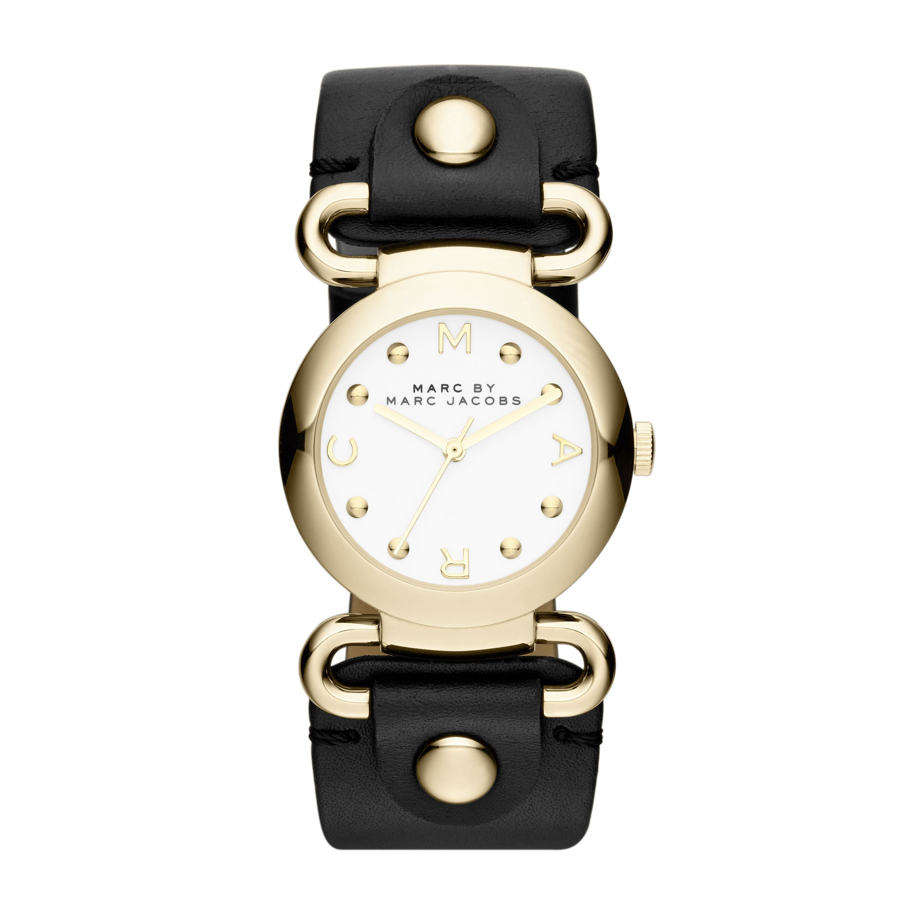 MBM1309 Molly Black Leather Ladies Watch