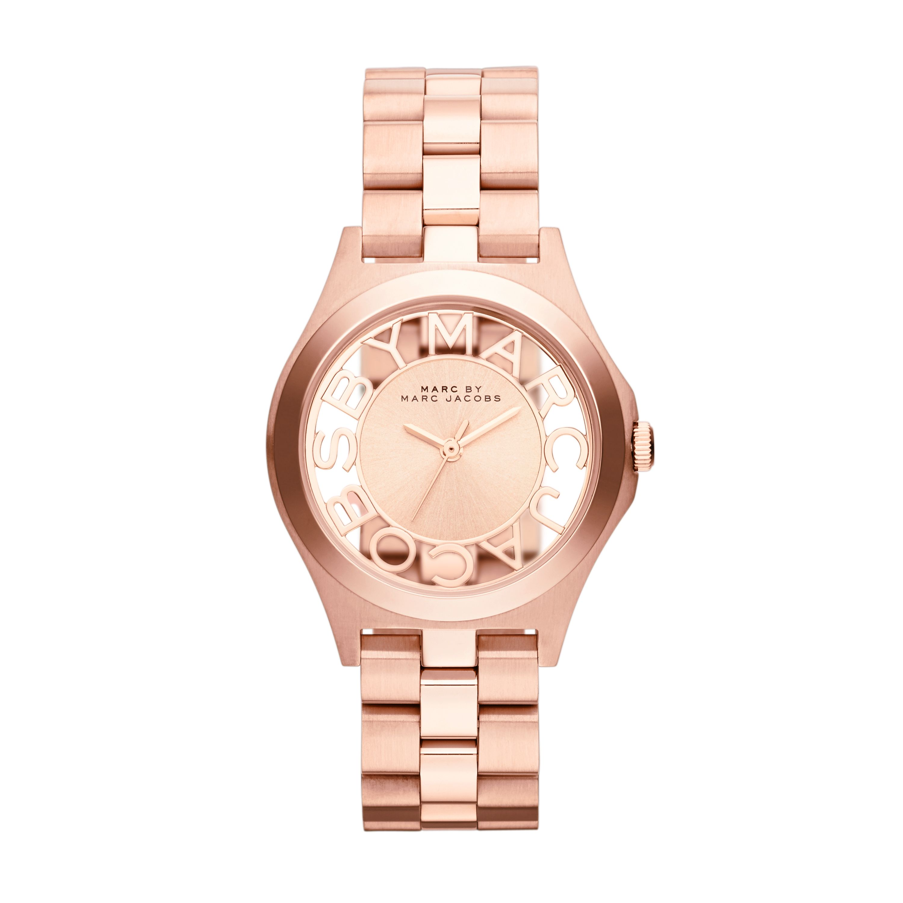 MBM3293 Henry Skeleton Rose Gold Ladies Watch