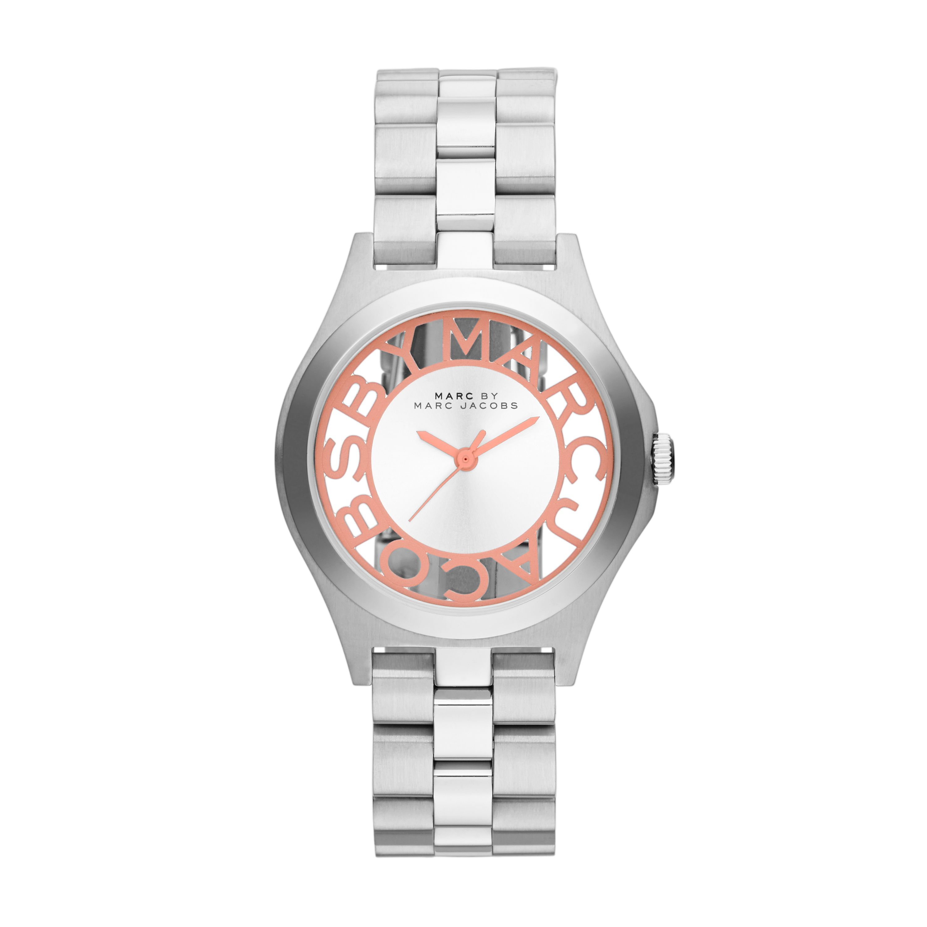 MBM3294 Henry Skeleton Silver Ladies Watch