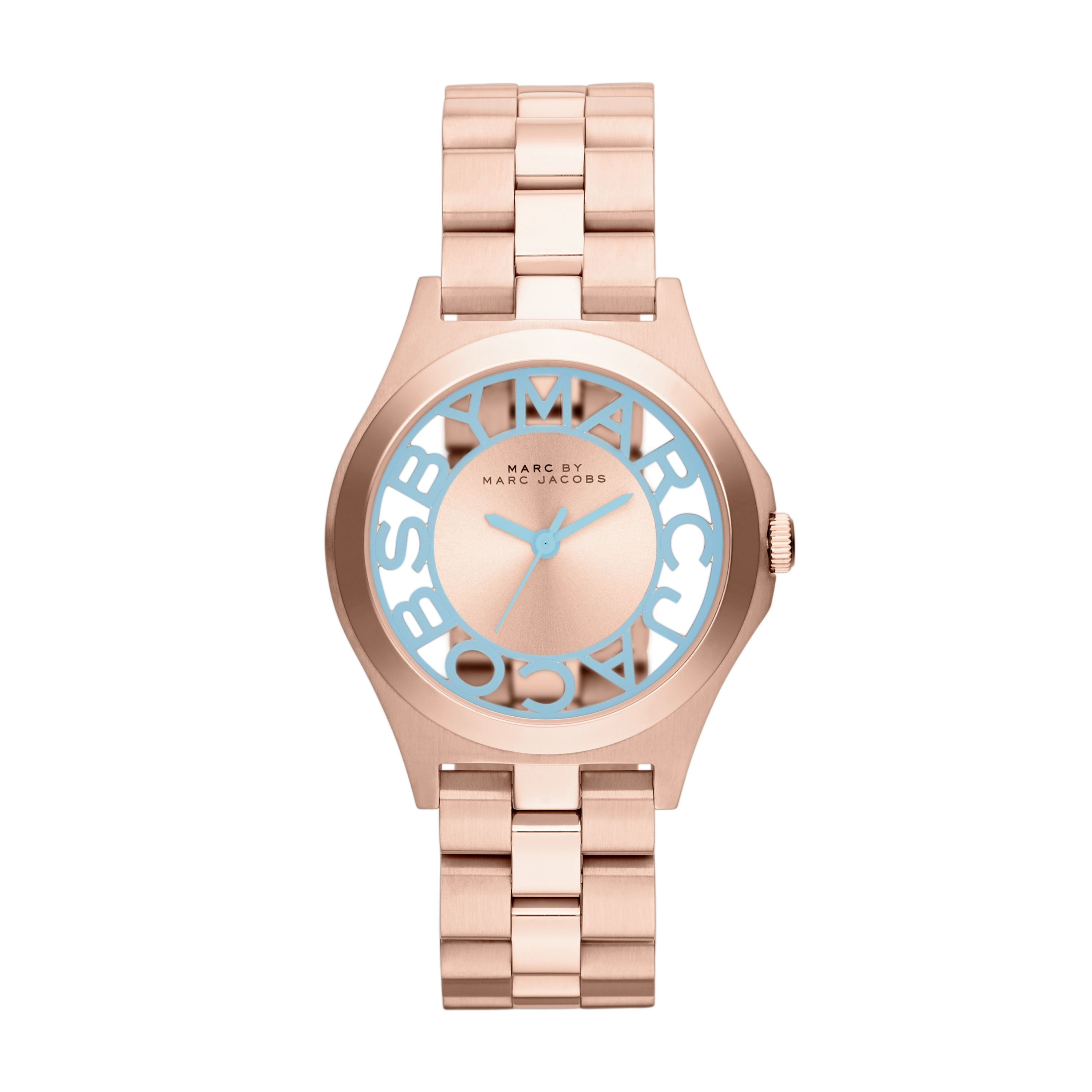 MBM3296 Henry Skeleton Rose Gold Ladies Watch