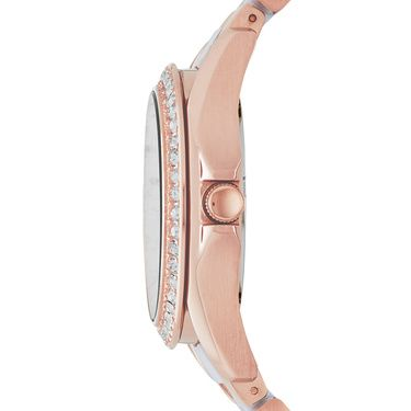 ES3528 Riley Ladies Two Tone Glitz Bracelet Watch