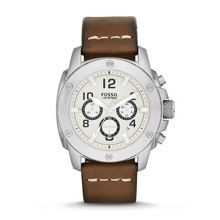 Machine Leather Mens Casual Watch