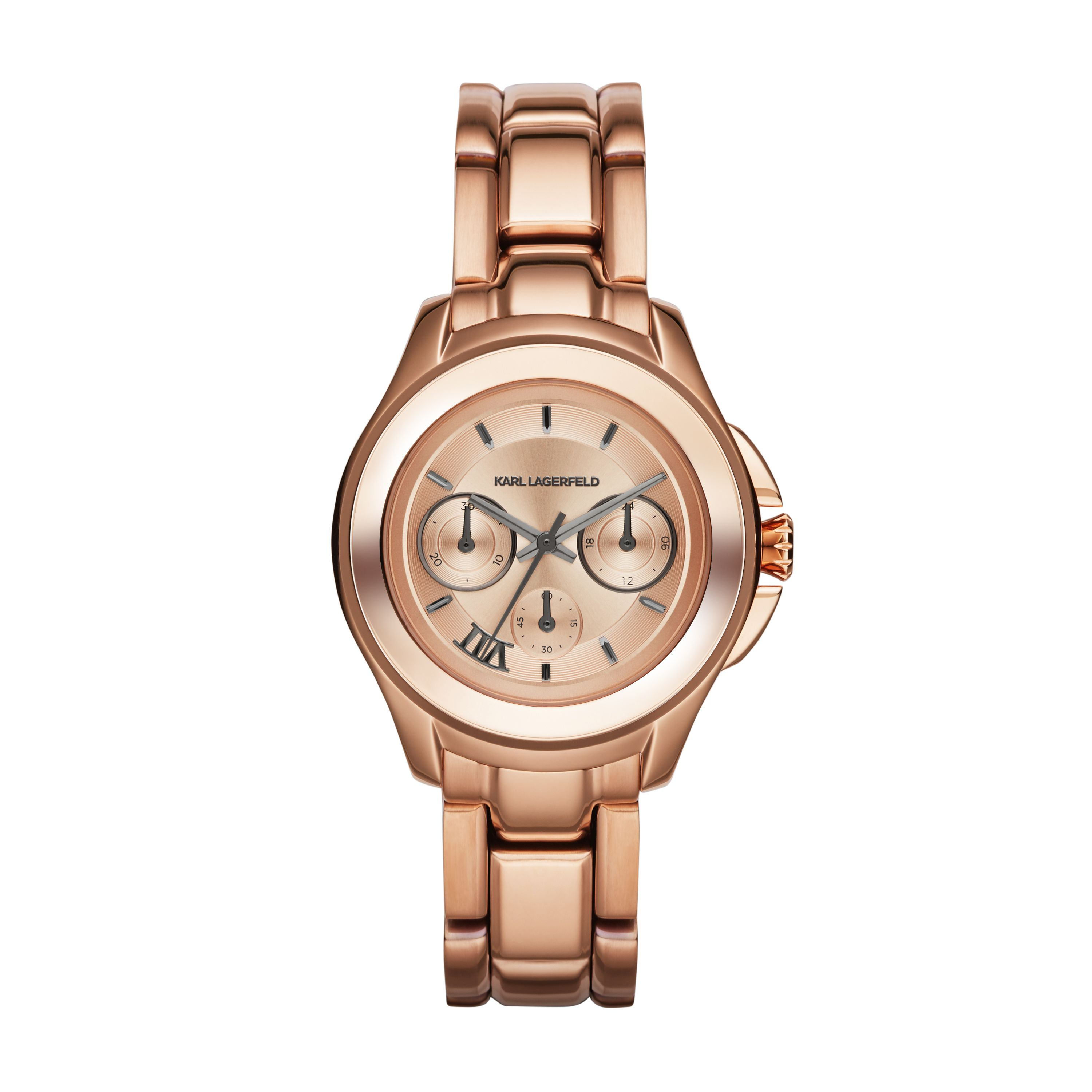 KL2408 Karl 7 Rose Gold Ladies Bracelet Watch