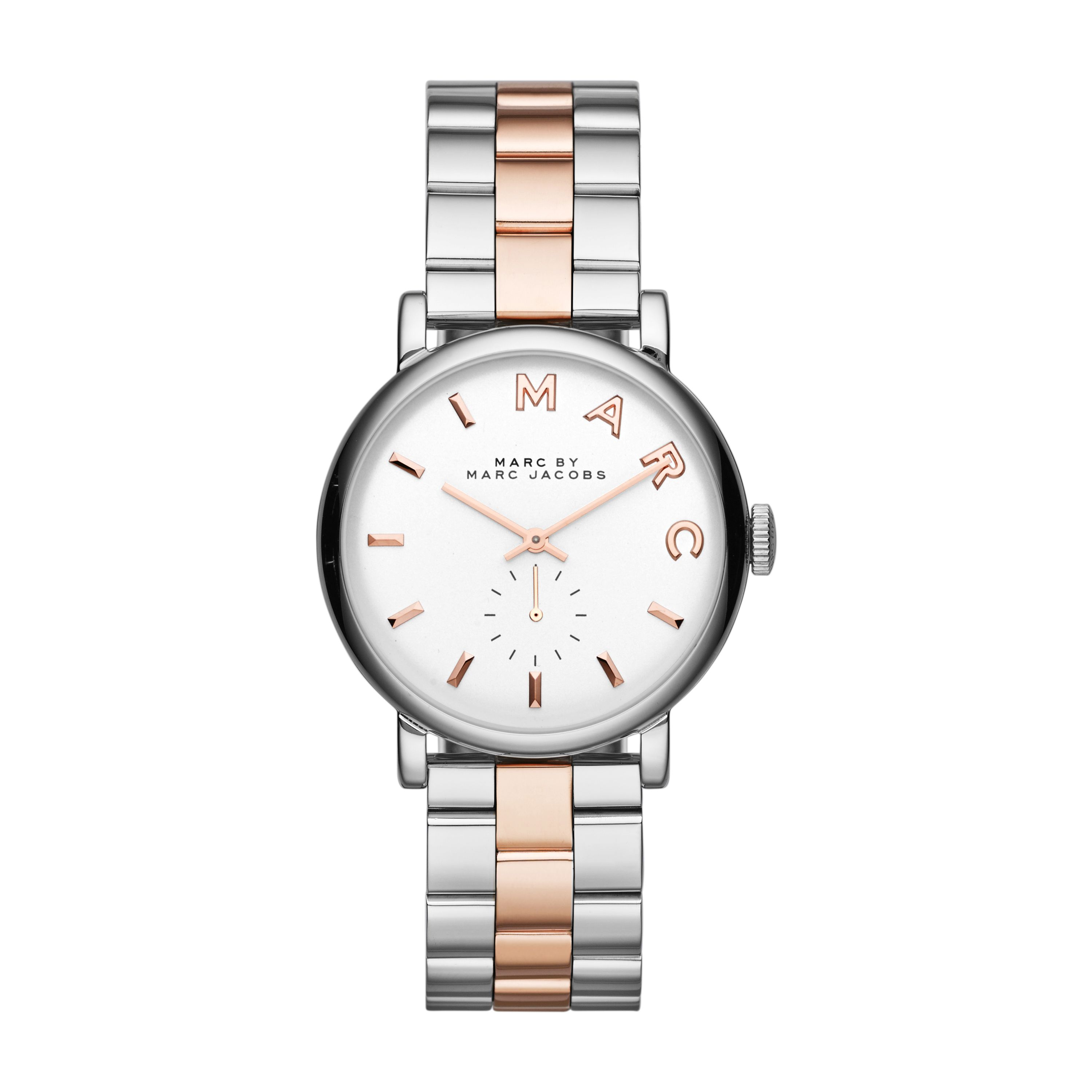 MBM3312 Baker ladies rose gold bracelet watch