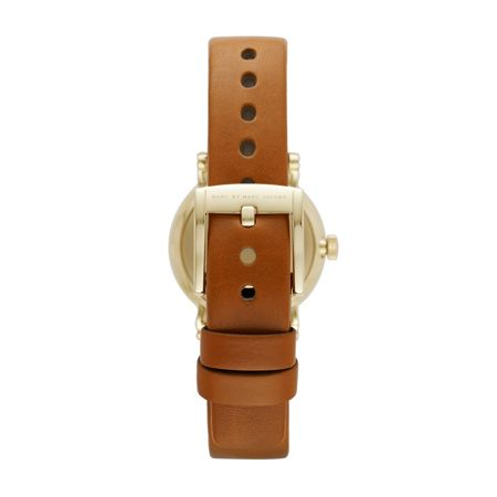 Marc Jacobs MBM1317 Baker ladies calf leather gold watch