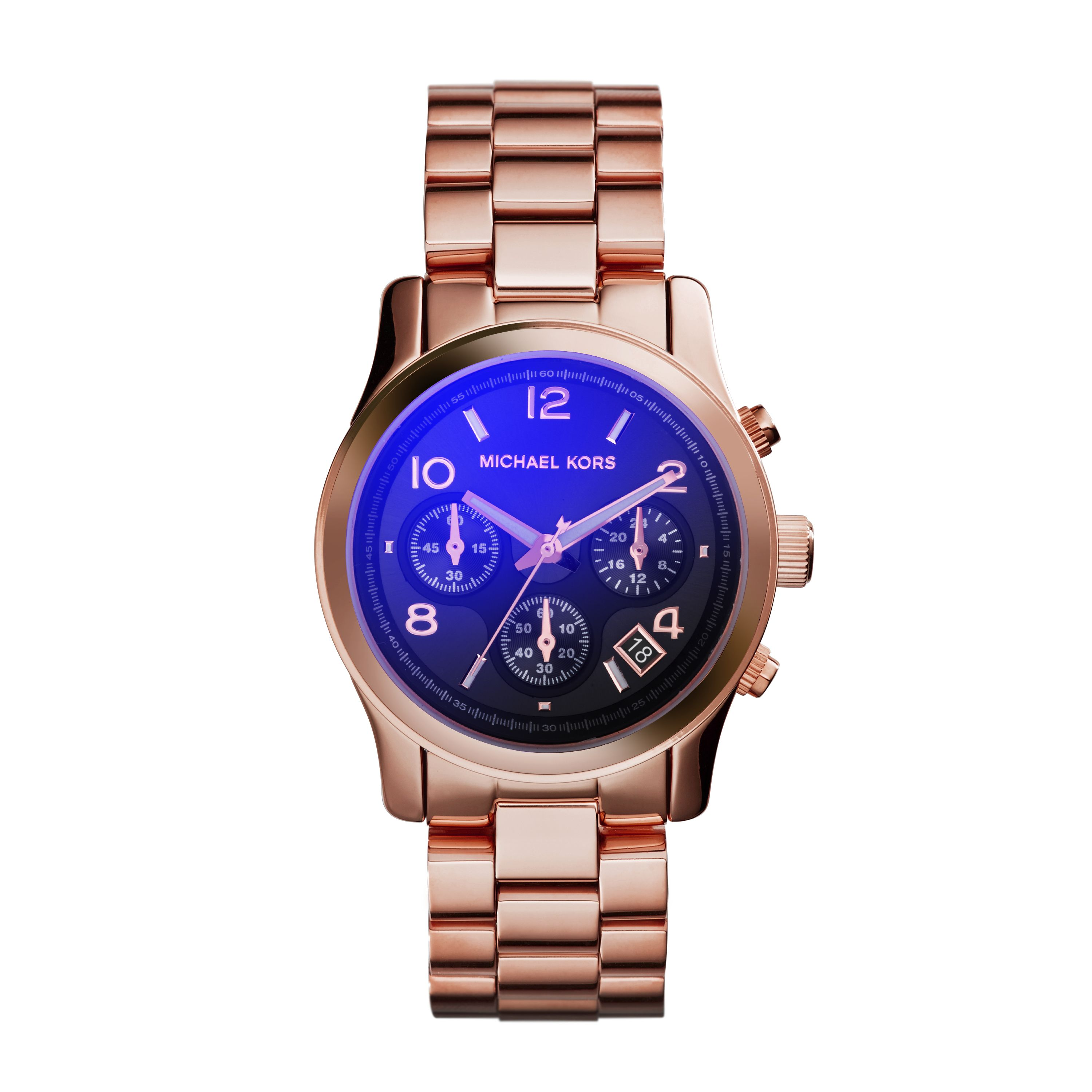 MK5940 Runway Ladies Rose Gold Bracelet Watch