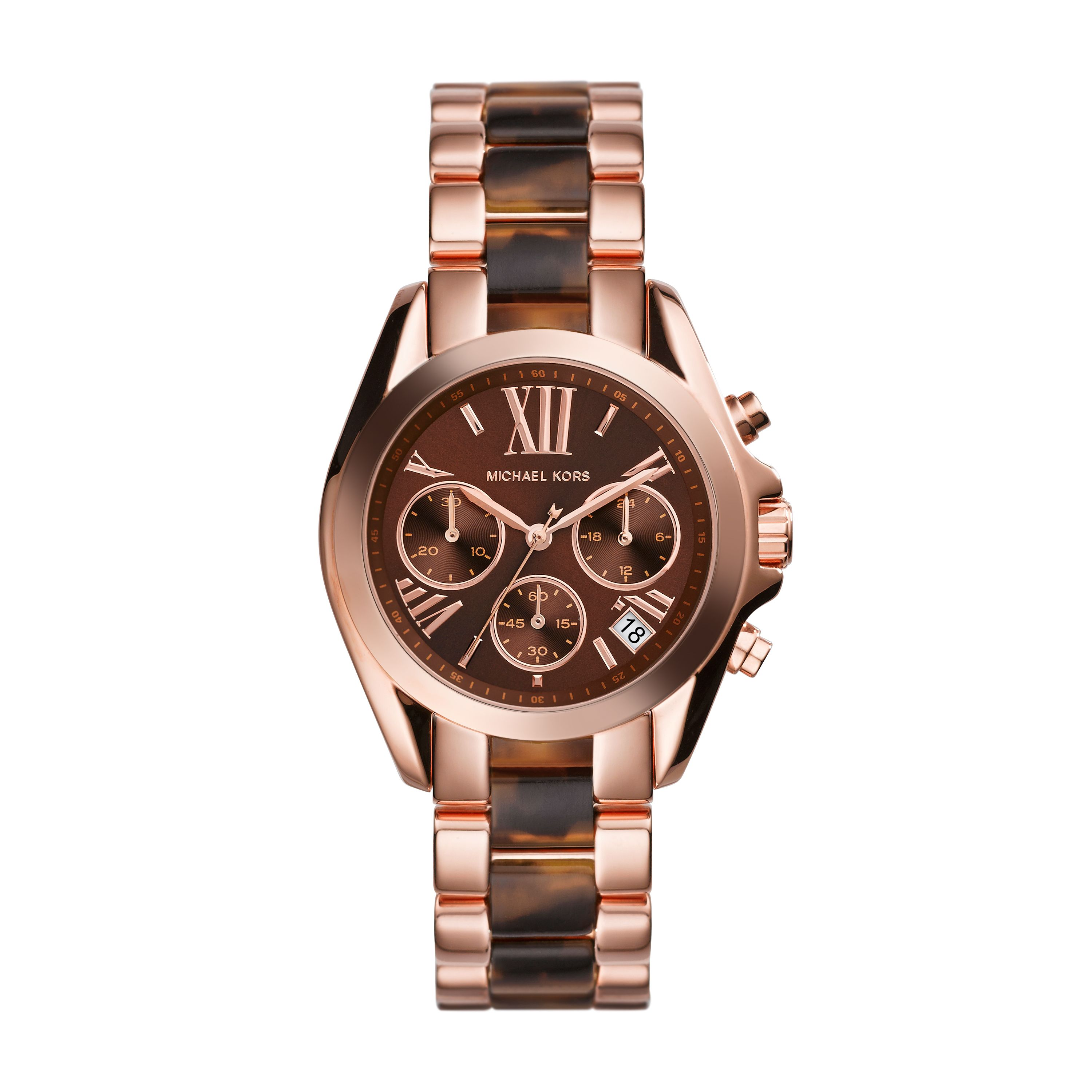 MK5944 Ladies tortoise shell sport watch