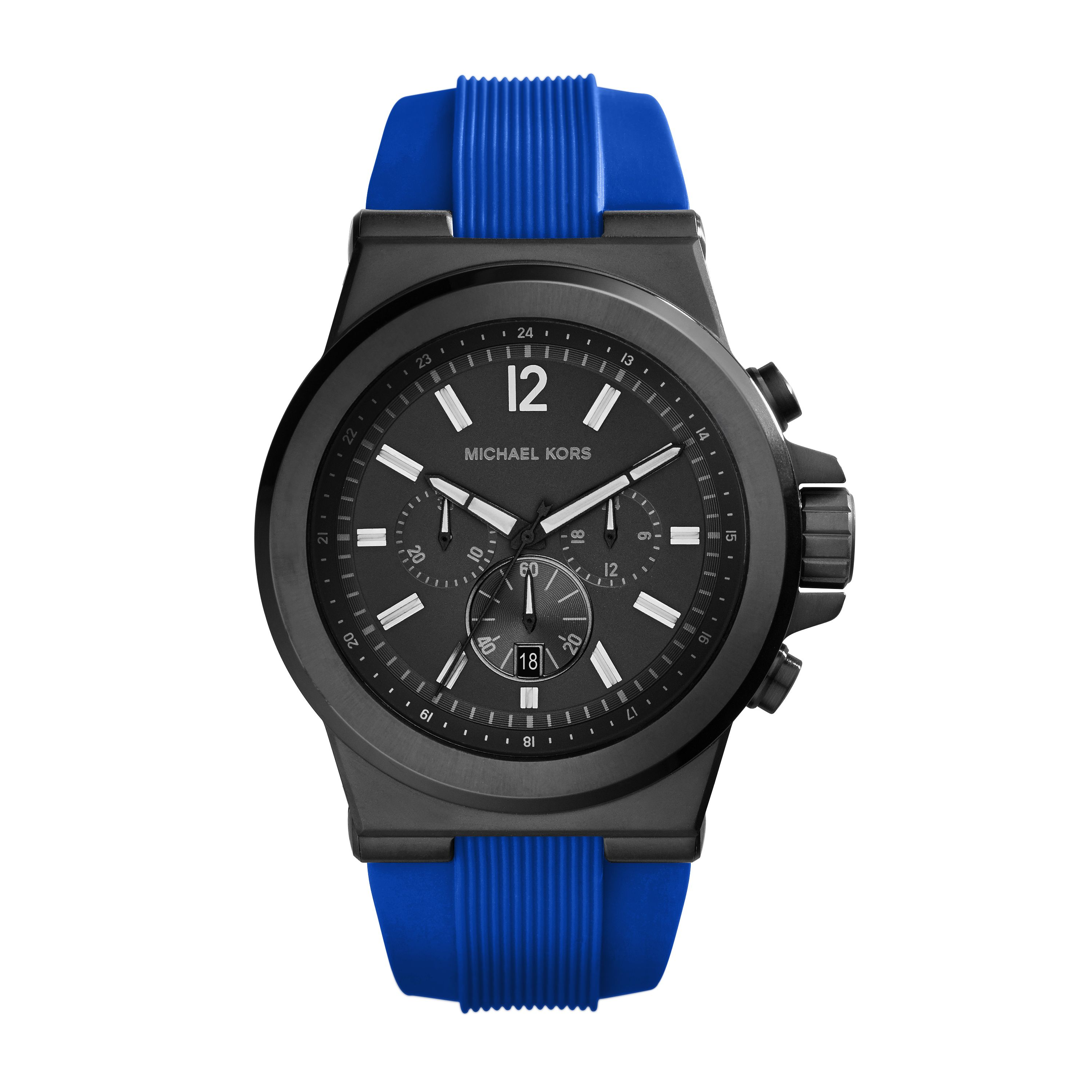 MK8357 Dylan Mens Chronograph Silicone Watch