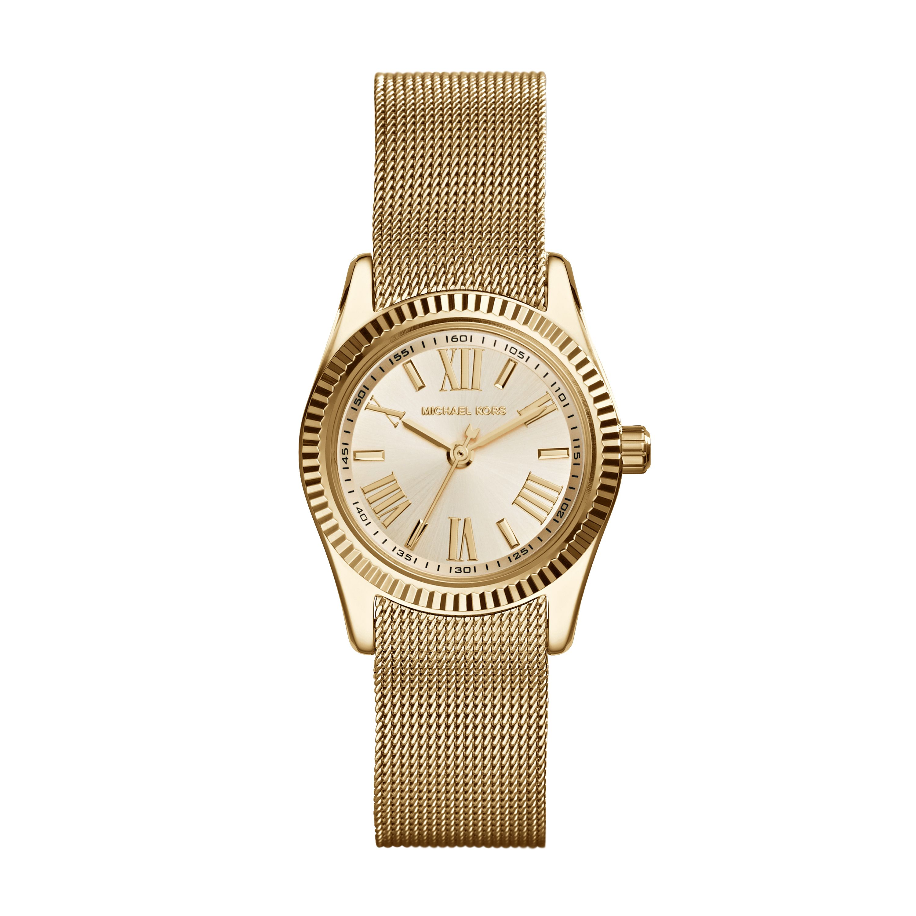MK3283 Ladies gold mesh bracelet watch