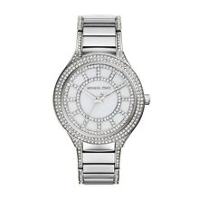 Michael Kors Kerry Silver Crystal Ladies Bracelet Watch