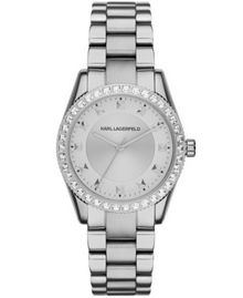 KL2806 Womens Silver Bracelet Watch