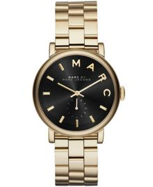 Marc Jacobs MBM3355 Womens Gold Bracelet Watch
