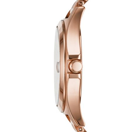 Marc Jacobs MBM3350 Womens Rose Gold Bracelet Watch