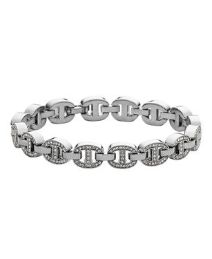 Michael Kors MKJ3979040 white gold ladies bracelet