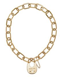 Michael Kors MKJ4637710 Ladies Padlock Necklace